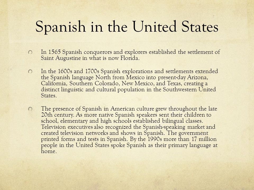 Language as Oppression: The English Only Movement in the United States