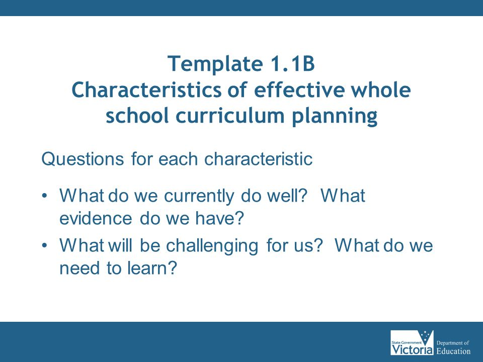 Curriculum Planning Modules  Ppt Download
