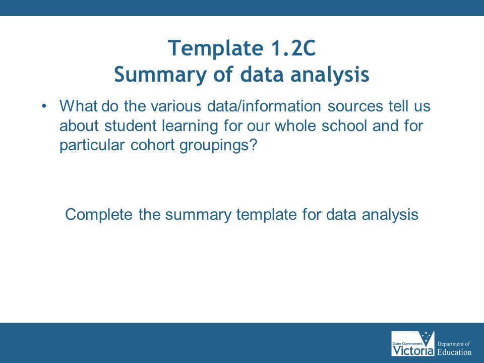 data analysis template for teachers - curriculum planning modules ppt download