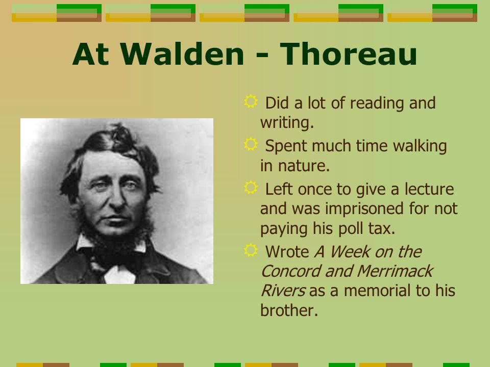 """literature critique essay thoreaus walden Essays and criticism on henry david thoreau's walden - essays  (critical survey of literature for students)  in walden, thoreau reaches across the years to continue to """"brag as lustily as ."""