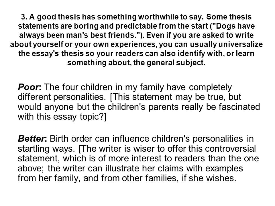Birth order thesis statement custom writing services india