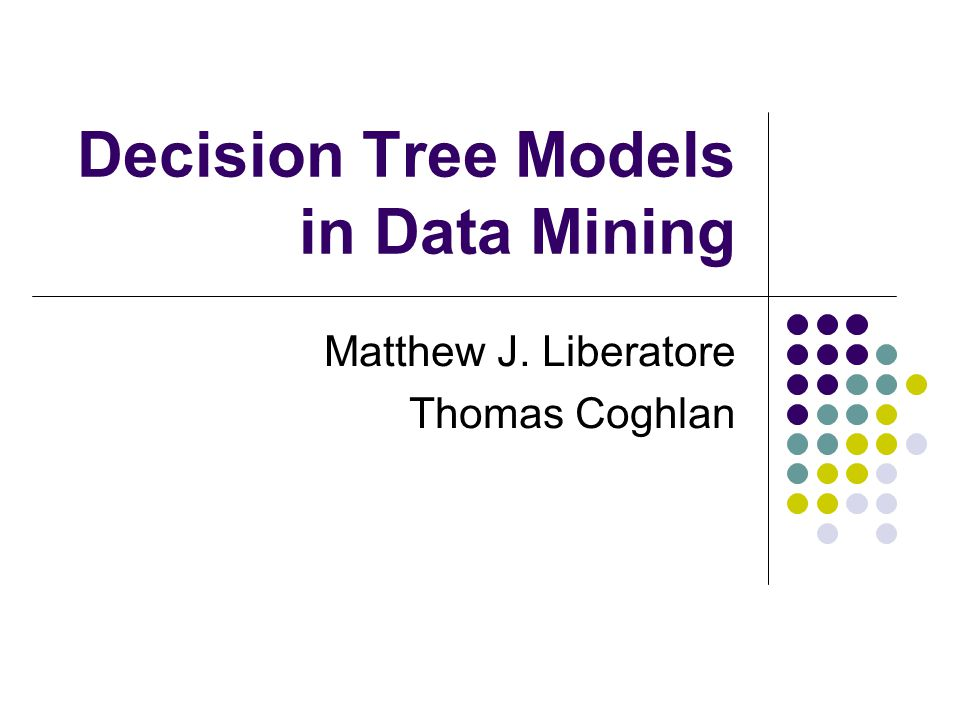 what is decision tree in data mining pdf