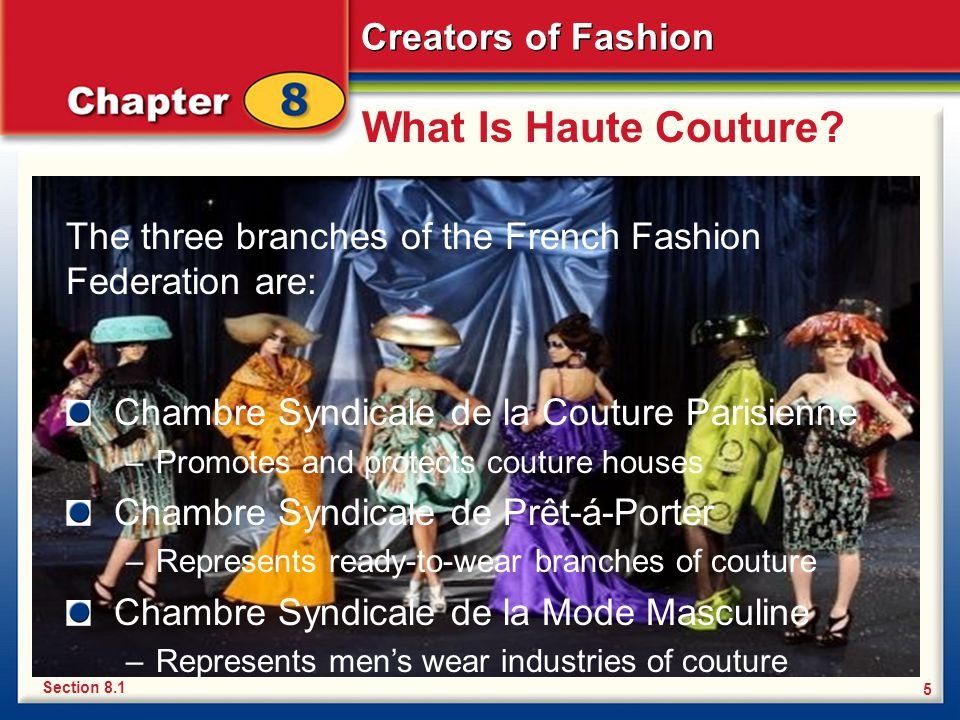 Chapter 8 creators of fashion haute couture everyday - Chambre syndicale de la haute couture parisienne ...
