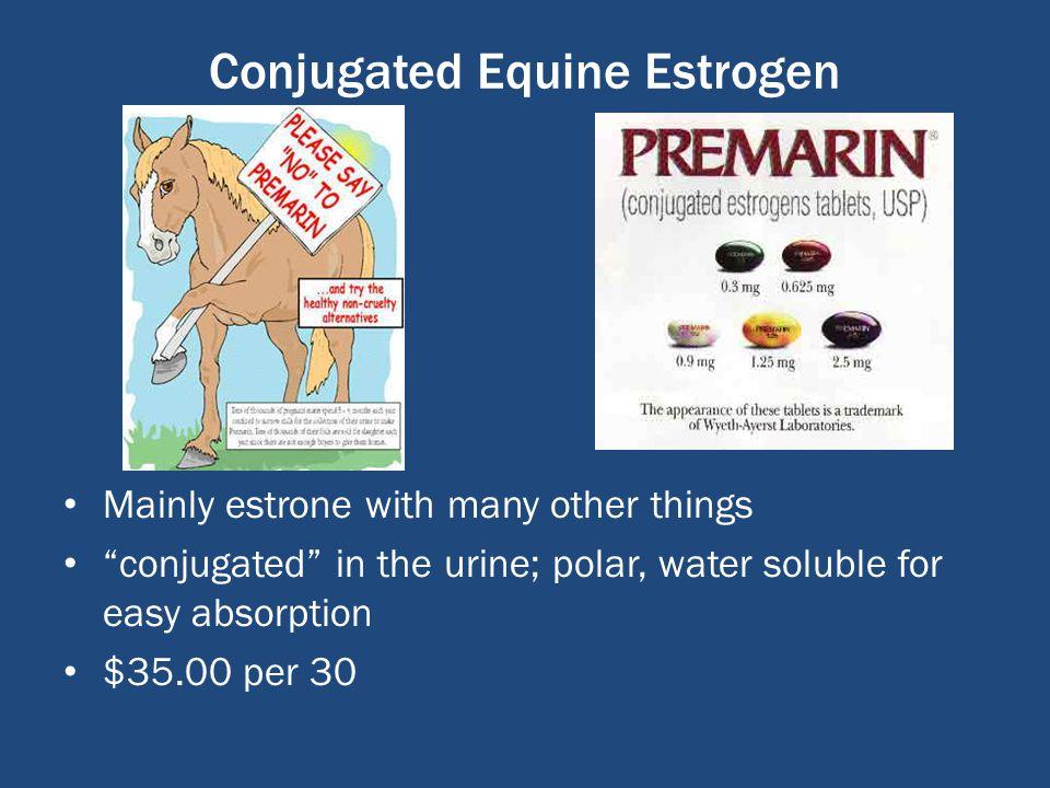 Conjugated Estrogens Premarin