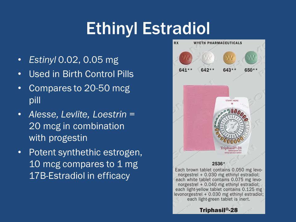 Norgestrel And Ethinyl Estradiol Birth Control