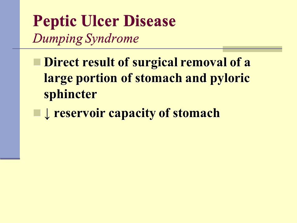 how to avoid dumping syndrome