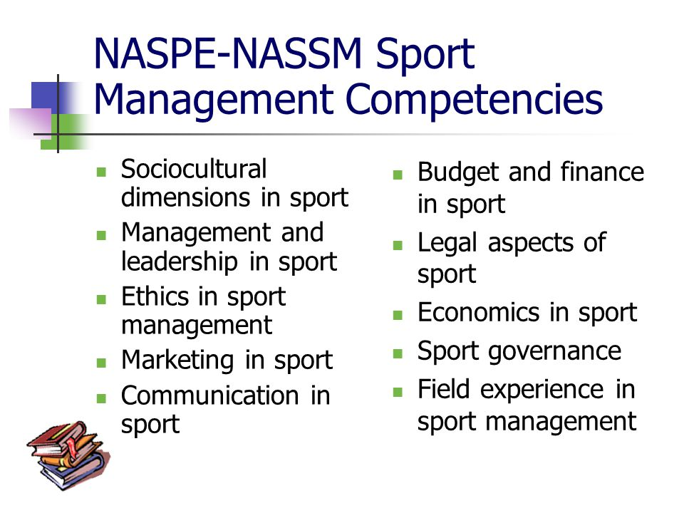 leadersip in sports management Journal of sport management the official journal of the north american society for sport management current issue sport leadership: a new generation of thinking.