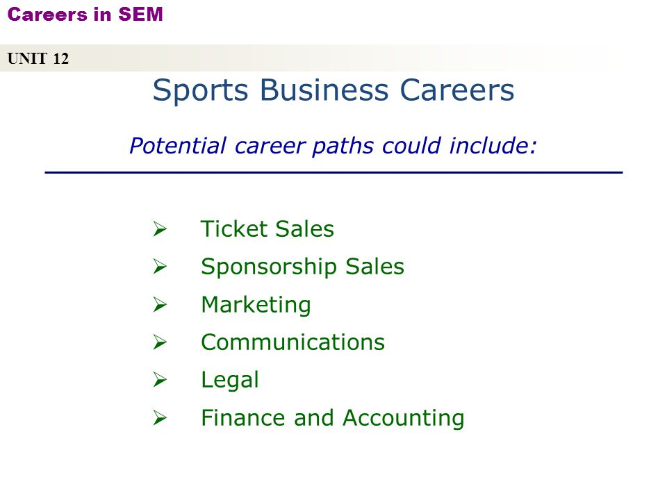 Career paths in accounting and finance