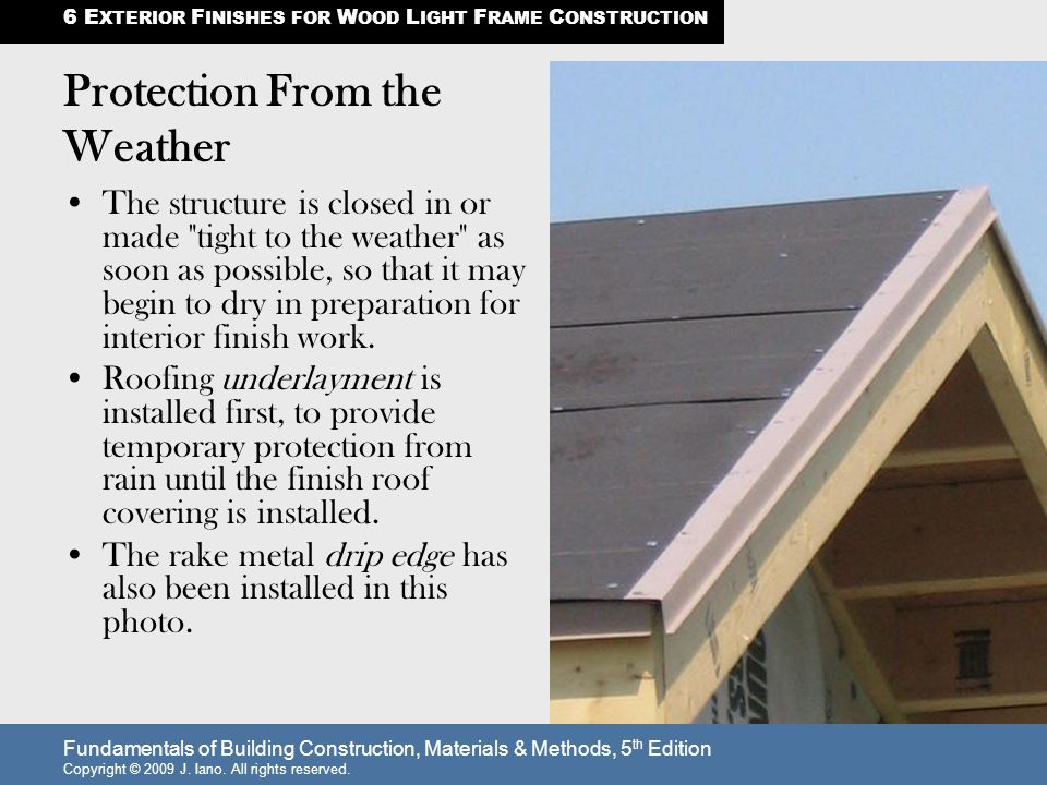 Protection From the Weather - ppt video online download