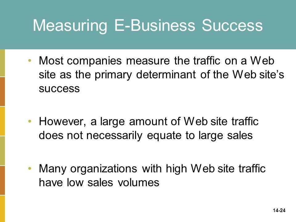 Measuring E-Business Success