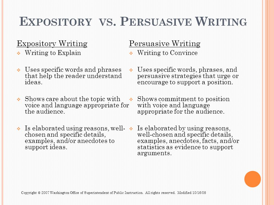 Persuasive writing techniques examples