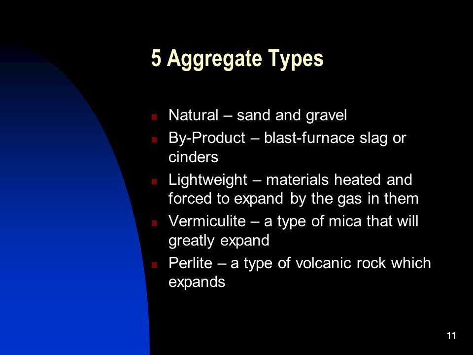 Blast Furnace Slag Aggregate Lightweight : Concrete ppt video online download