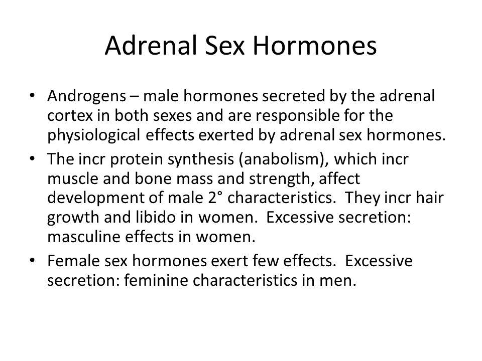 Adrenal Sex Hormones 22