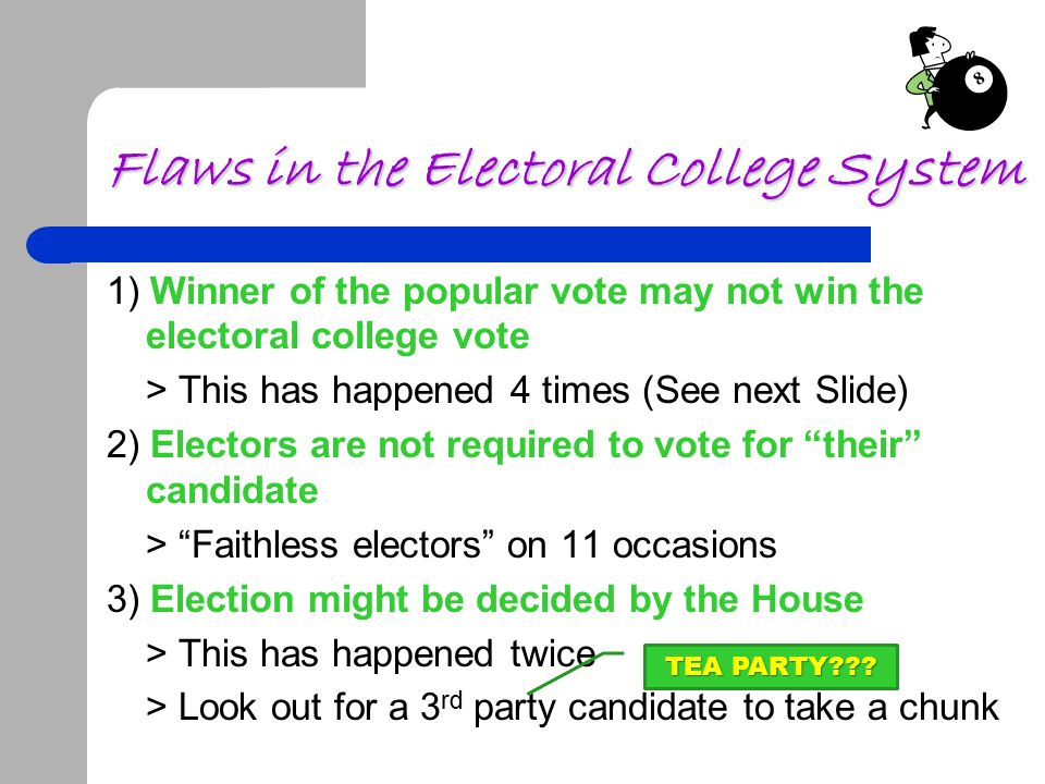 Flaws in the Electoral College System