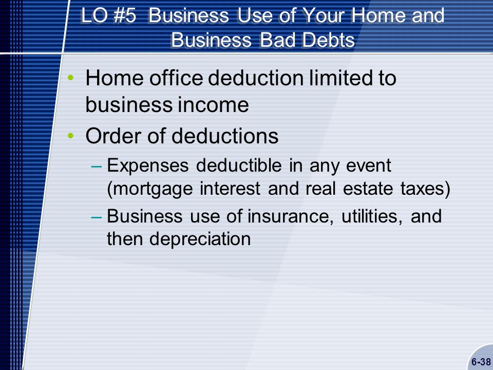 Chapter 6 Self Employed Business Income Schedule C Ppt