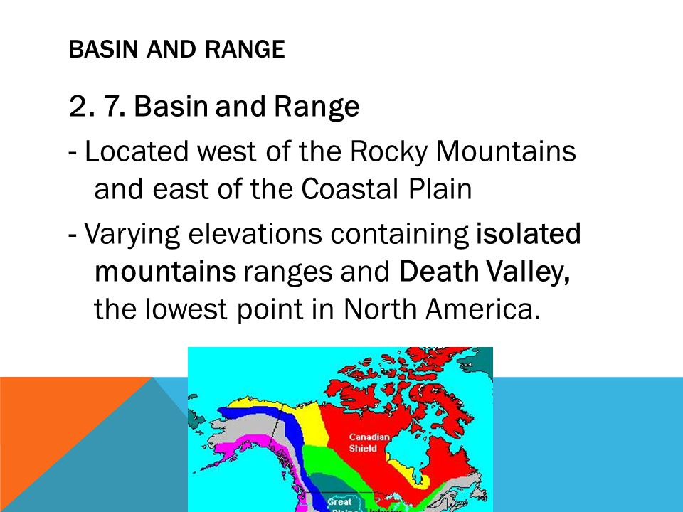 Basin and Range