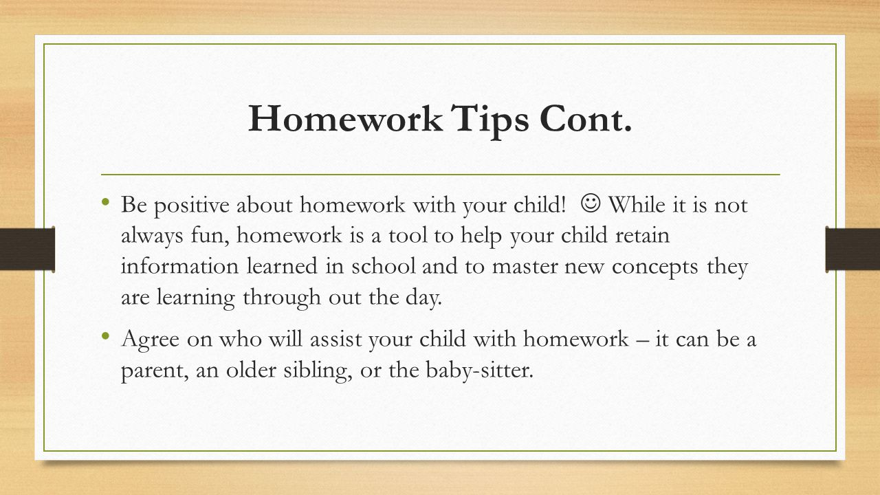 how to help your child with homework If you've ever had to help your child with math homework, you really appreciate their teachers, who do it every day math anxiety isn't something only kids experience.
