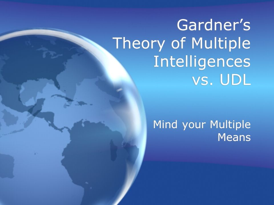 essays on theory of multiple intelligences