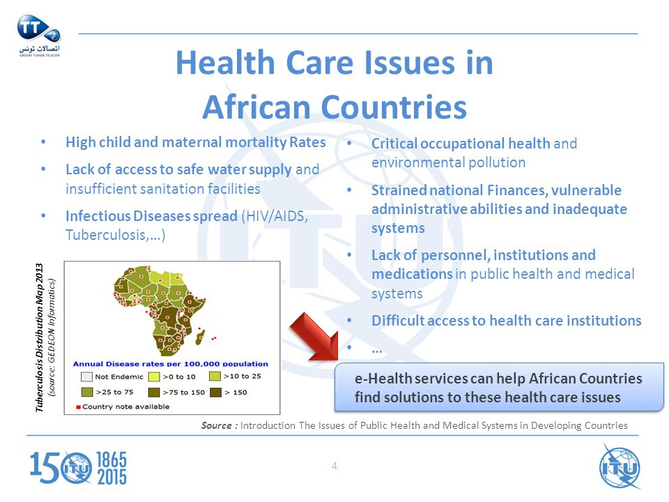 health problems in developing nations Yet, resource-limited countries are still suffering heavily under the burden of poor maternal health the issues of access, cost, scalability, and.