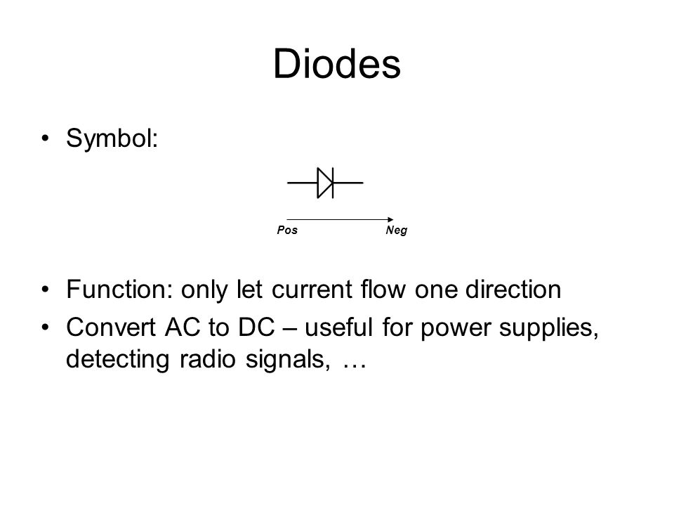 Colorful Symbol For Dc Power Supply Gift - Schematic Diagram Series ...