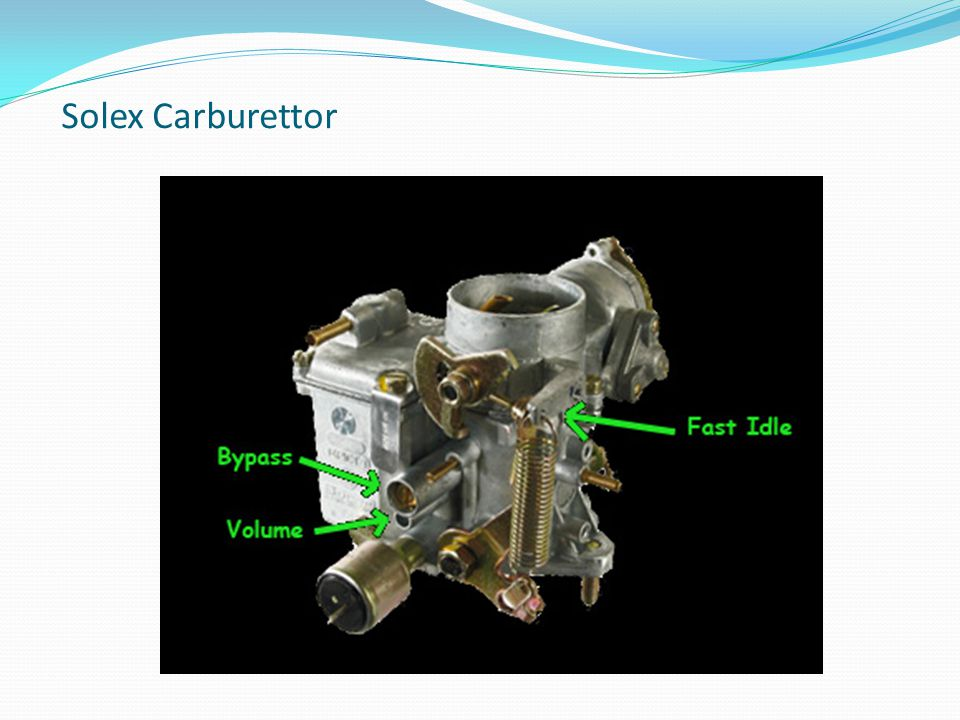 Solex Carburettor