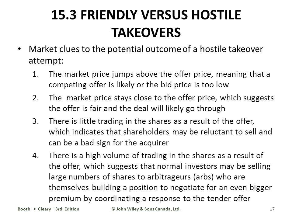 hostile or friendly takeovers mergers economics essay This is a research assignment regarding the analysis of a friendly takeover example and a hostile takeover example in the year 2010 to 2011 as for the friendly takeover acquisition, it is still in process with a vertical business combination of building materials supper and peat moss distributor.