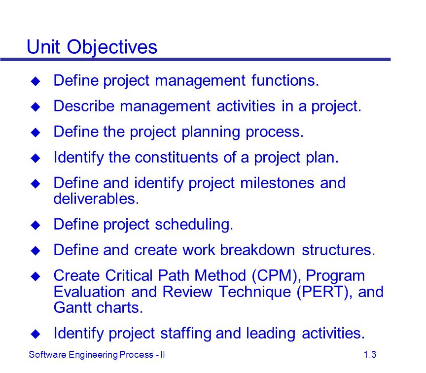 Project Management and Scheduling - ppt download
