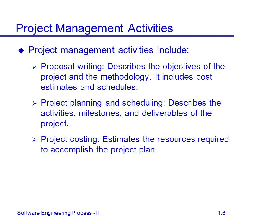 Project Management And Scheduling Ppt Video Online Download