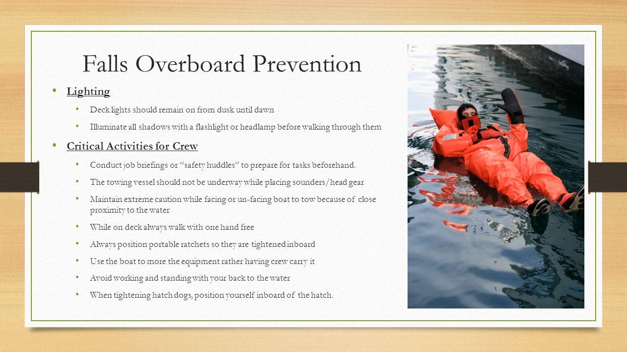 Falls Overboard Prevention