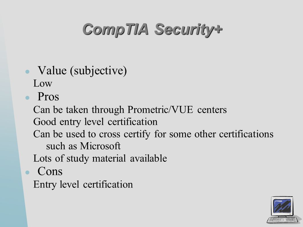 Security certifications ppt video online download 11 comptia xflitez Choice Image