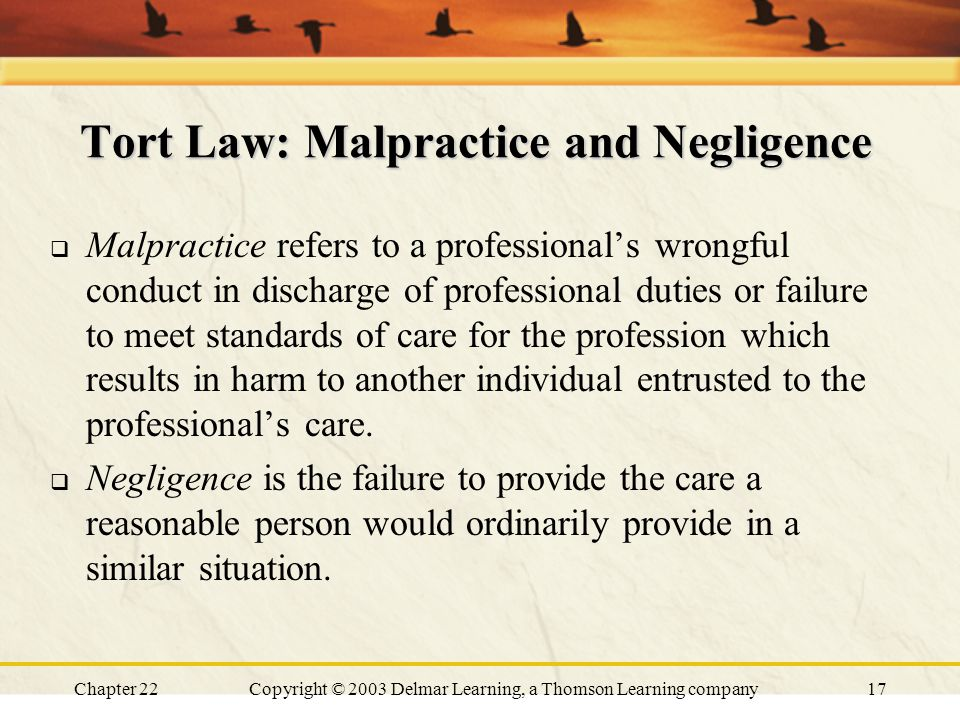 negligence tort and reasonable person The tort of negligence in victoria is regulated by both  a reasonable person in those same circumstances would have taken steps  the extent of personal injury.