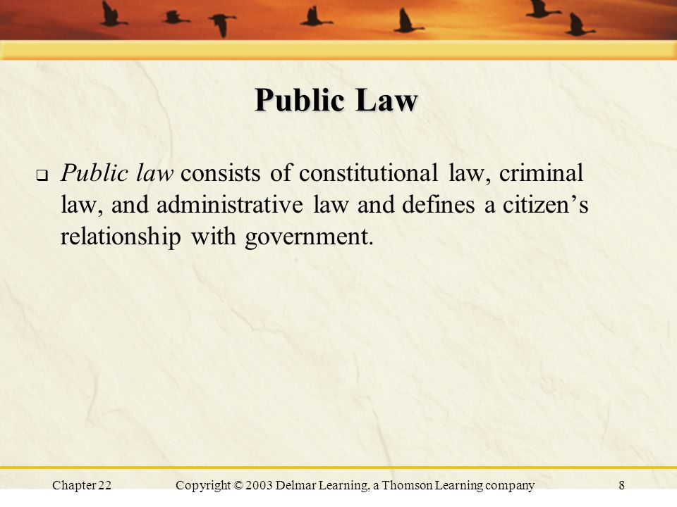 administrative law and constitutional relationship counseling
