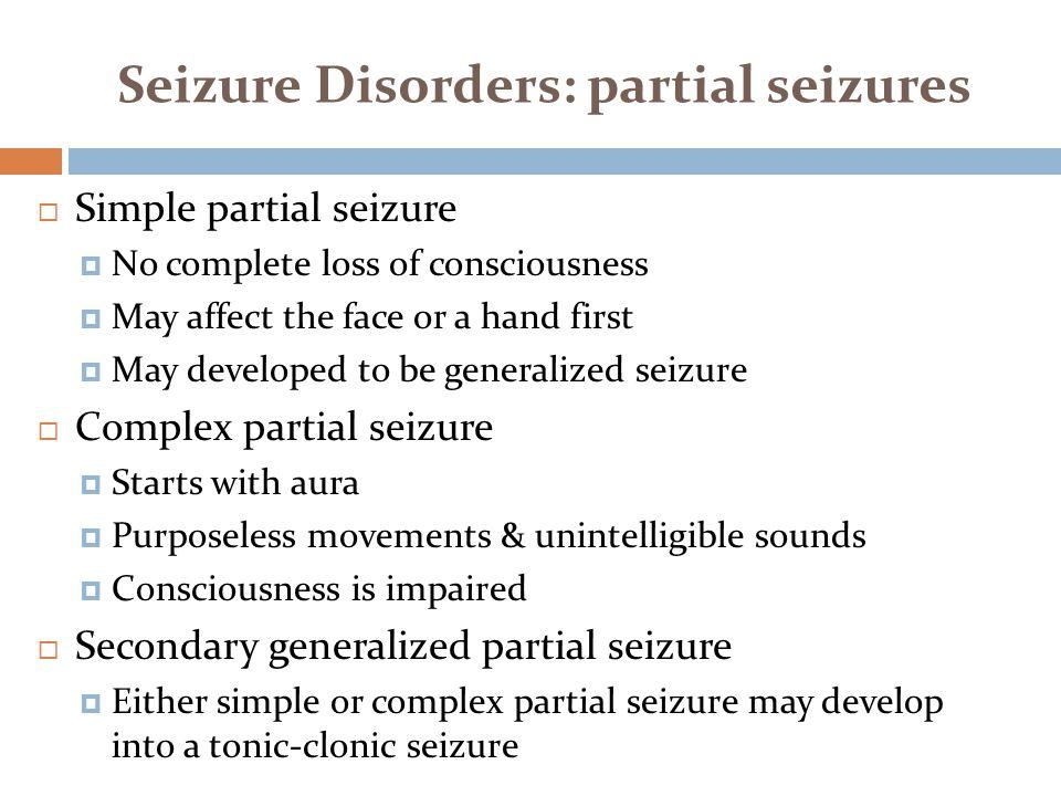 Seizure term facial express blank