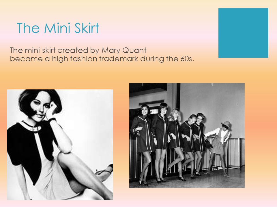 mary quant fashion