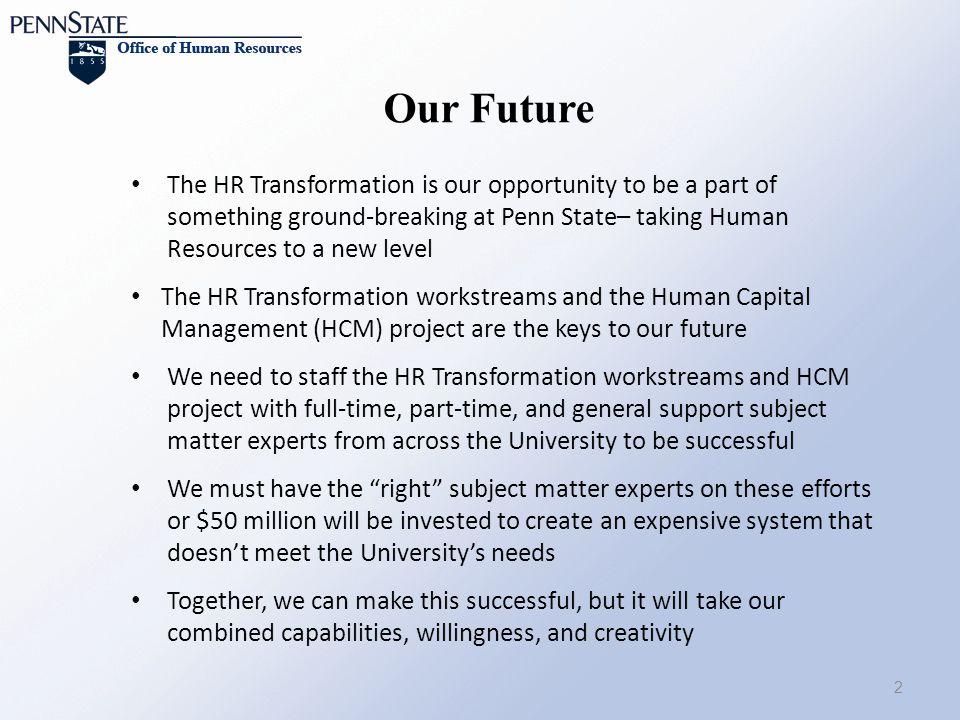 We staff human resources