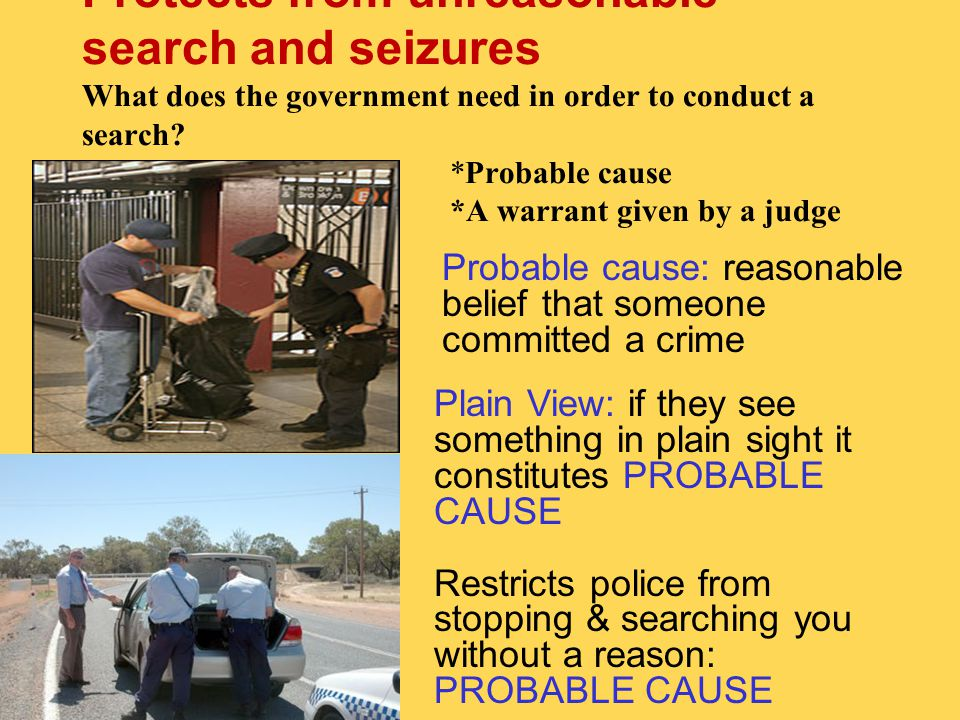 Search and Seizure