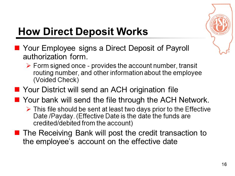 Automating Accounts Payable And Increasing Direct Deposit