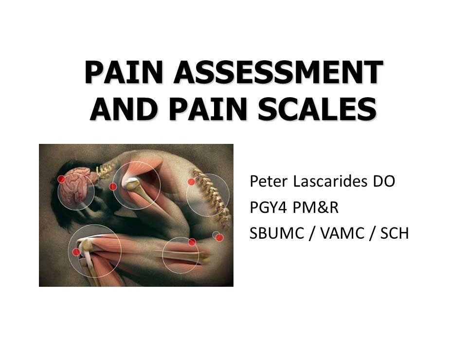 Peter Lascarides DO PGY4 PM&R SBUMC / VAMC / SCH