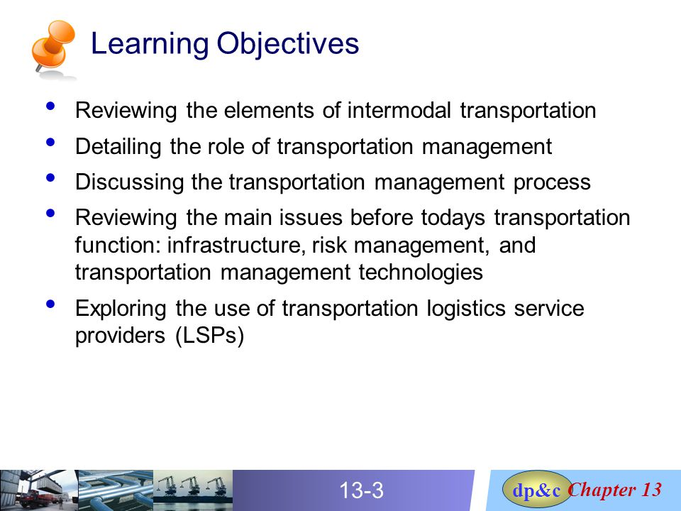 role of transportation in logistics pdf