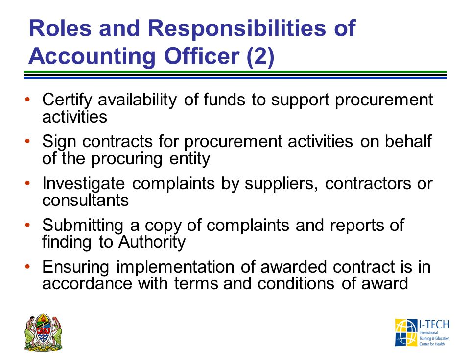 Roles and Responsibilities of Accounting Officer (2)