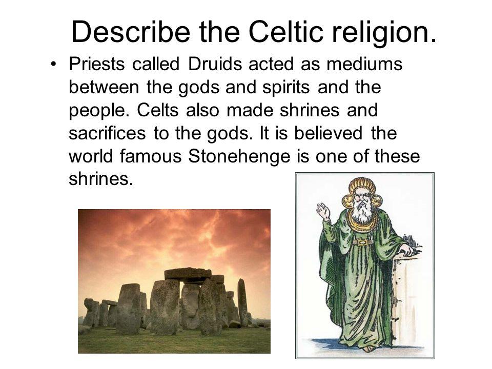 SlideplayercomimagesDescribetheC - Celtic religion