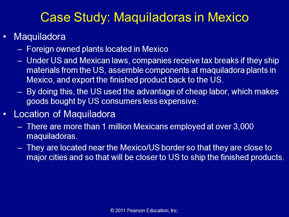 an introduction to the maquiladora Need writing essay about introduction to the maquiladora buy your excellent essay and have a+ grades or get access to database of 334 introduction to the.