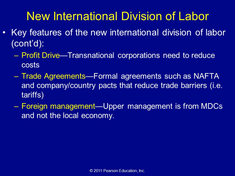 new international division of labor Loughborough university institutional repository the new international division of cultural labor revisited this item was submitted to loughborough university's institutional repository.