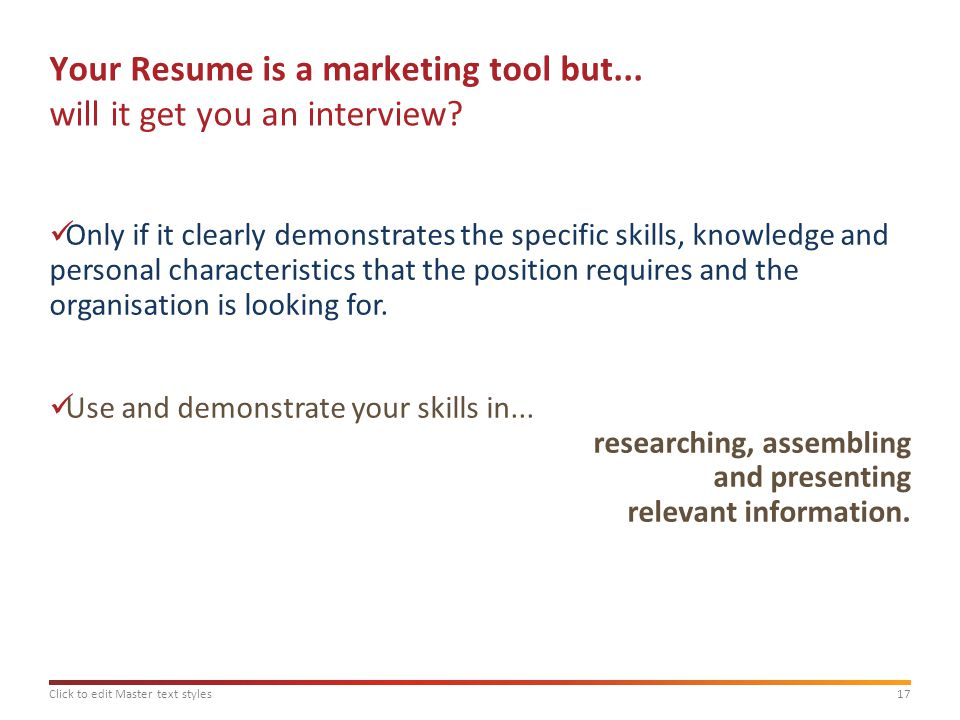 masterclass applying for graduate employment ppt download