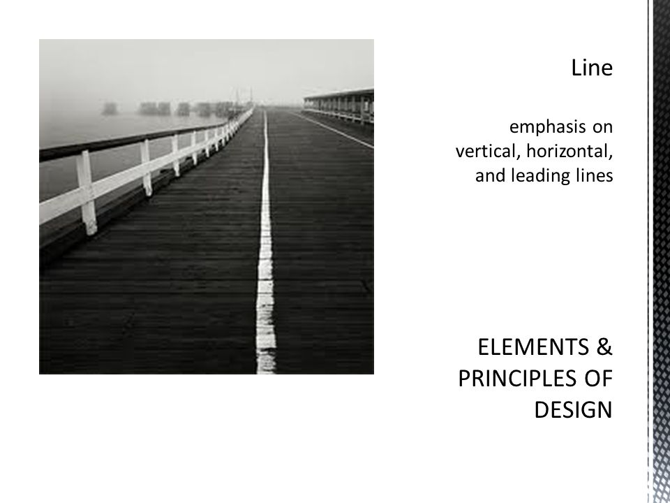 Elements And Principles Of Design Line : Composition and elements of design ppt video online download