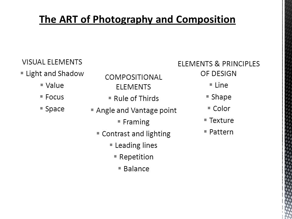 Visual Elements And Principles : Composition and elements of design ppt video online download
