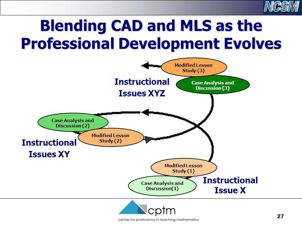 Blending CAD and MLS as the Professional Development Evolves