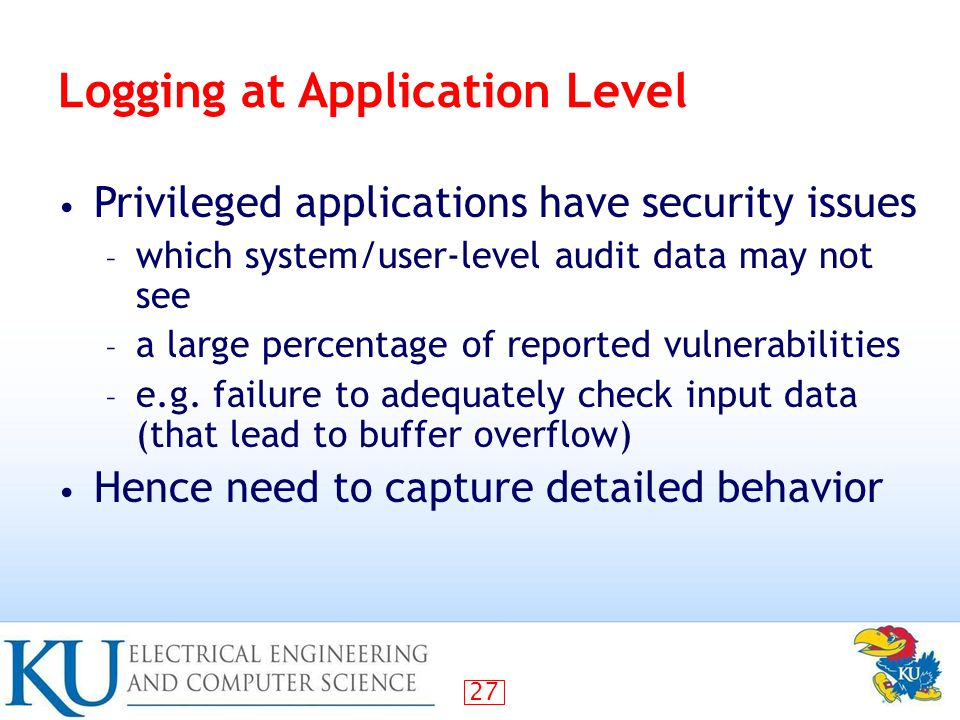 the issue of buffer overflow attacks in computer security Buffer overflow vulnerabilities are among the most widespread of security  problems numerous incidents of buffer overflow attacks have been reported and  many  another kind of vulnerability called format string overflow has recently   john r vacca, cloud security baselines, cloud computing security,.