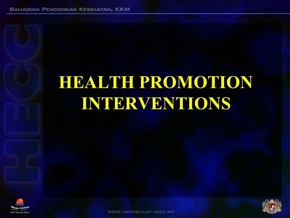 health promotion interventions Health promotion interventions in type 2 diabetes m onographic section 193 portant and central topic in health promotion interven-tions the eu-funded emphatie.