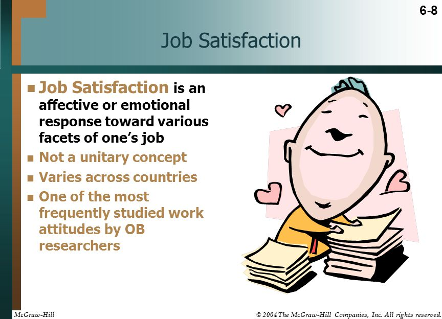 quiz emotion and job satisfaction Time for a job change job satisfaction quiz time for a job switch take the second careers quiz and find out if your'e ready for your next act.